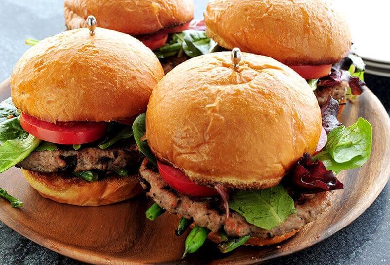 Image of Nicoise Tuna Burgers