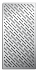 Laser-cut Grill Grate, Vegetable Pattern Upgrade Image