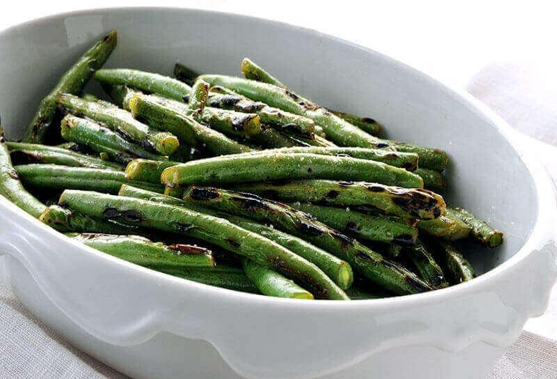 Image of Grilled Green Beans
