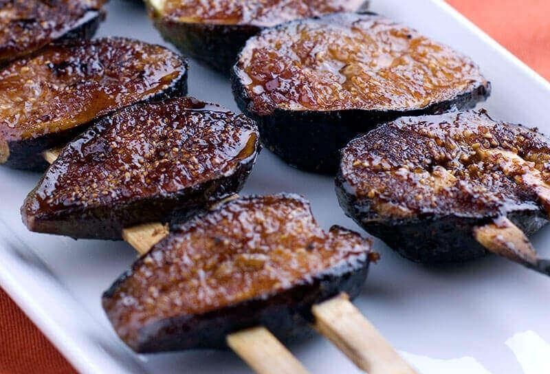 Image of Grilled Figs Over Vanilla Gelato