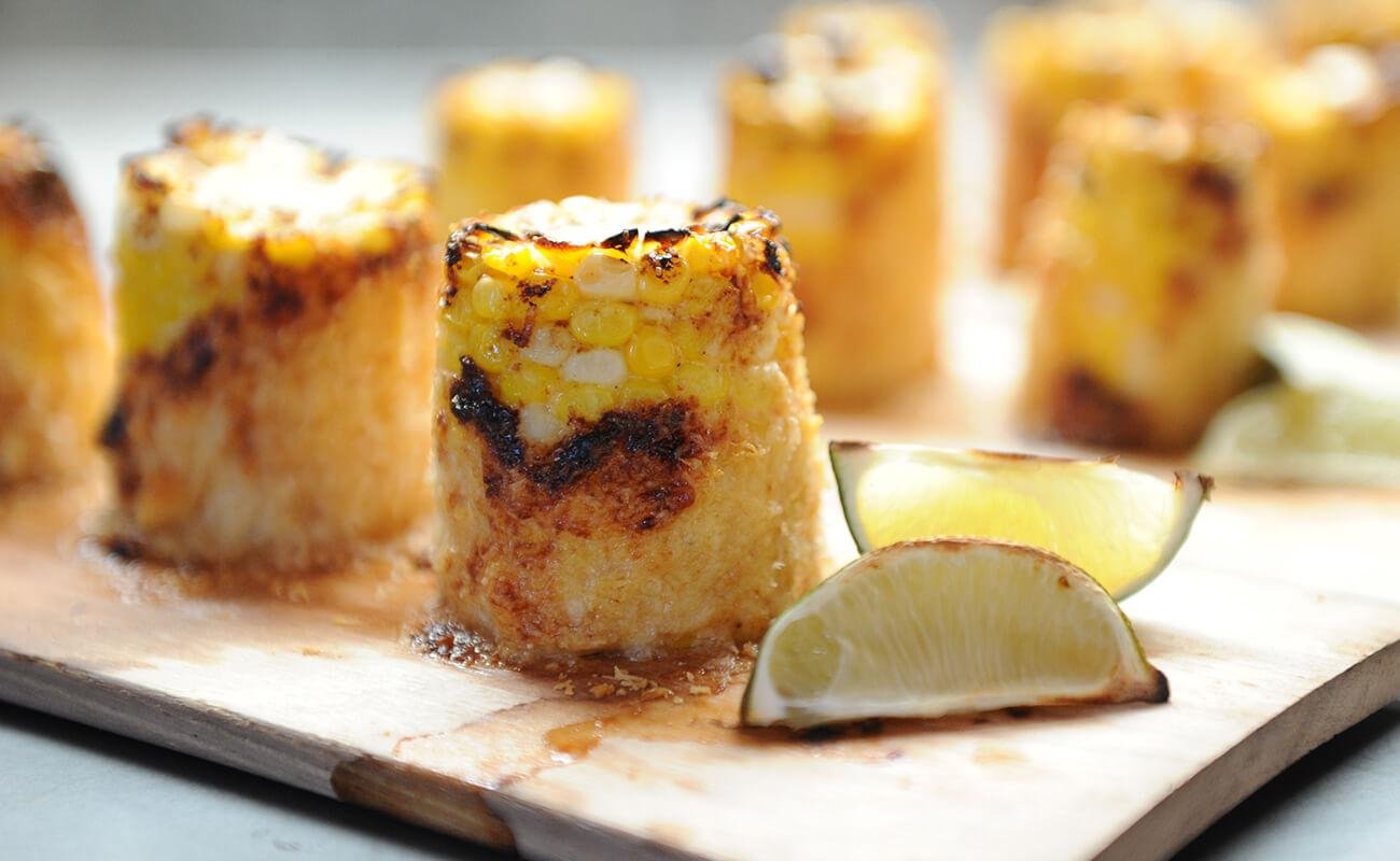 Image of Hickory-planked Barbecue Corn