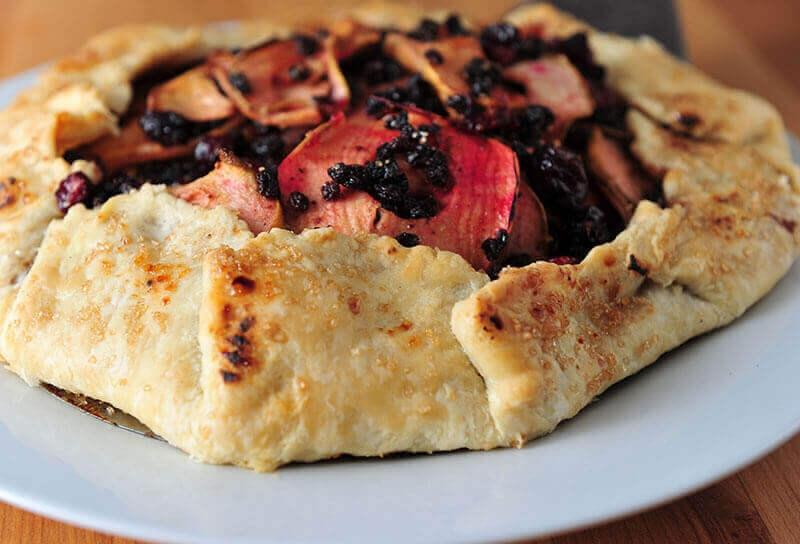 Image of Cranberry Pear Galette