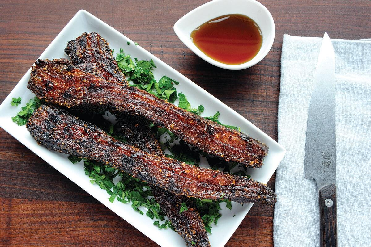 Image of Double-smoked Candied Bacon