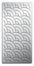 Laser-cut Grill Grate, Fish Pattern Upgrade image