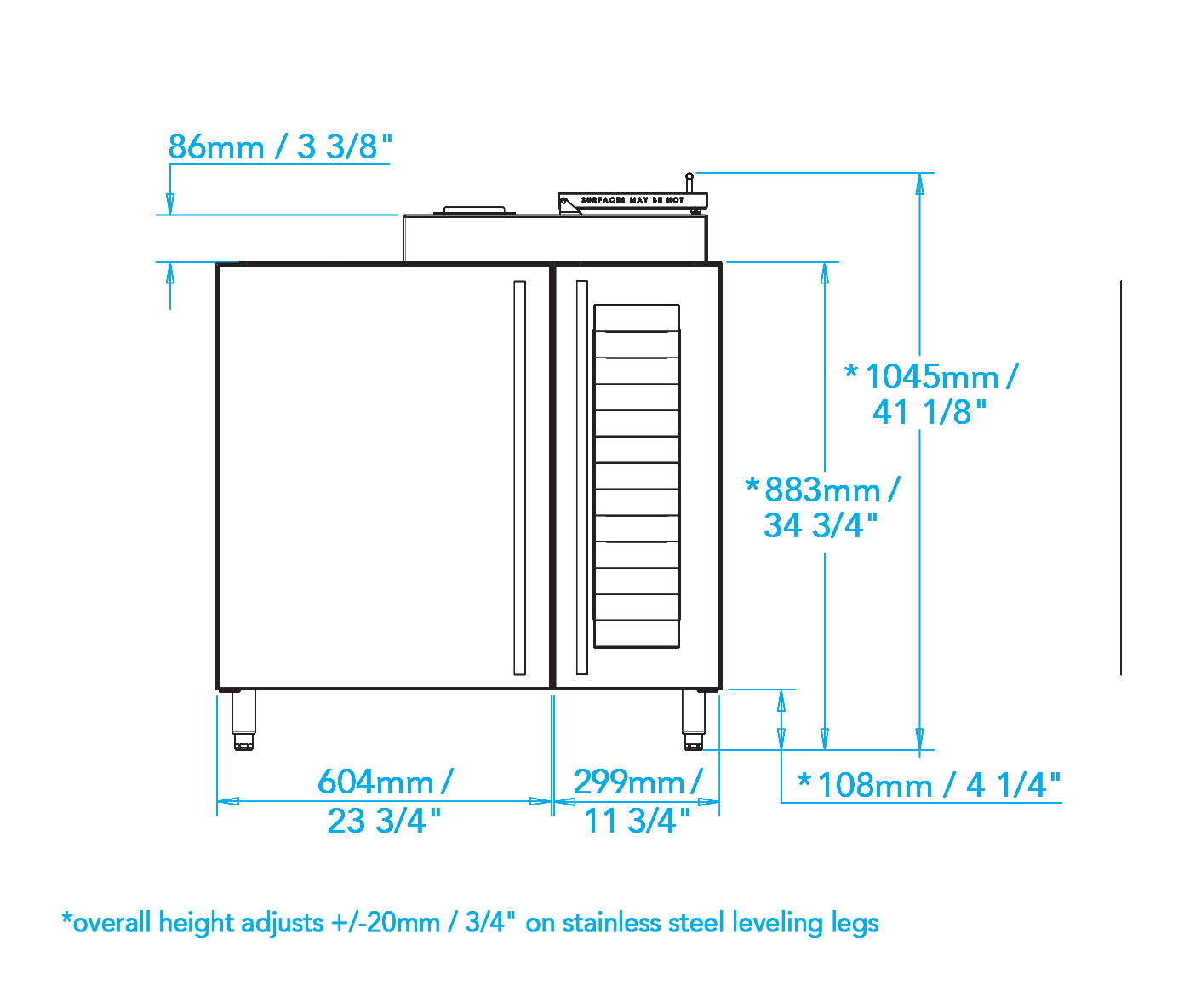 Built-in Smoker Cabinet Dimensions Image