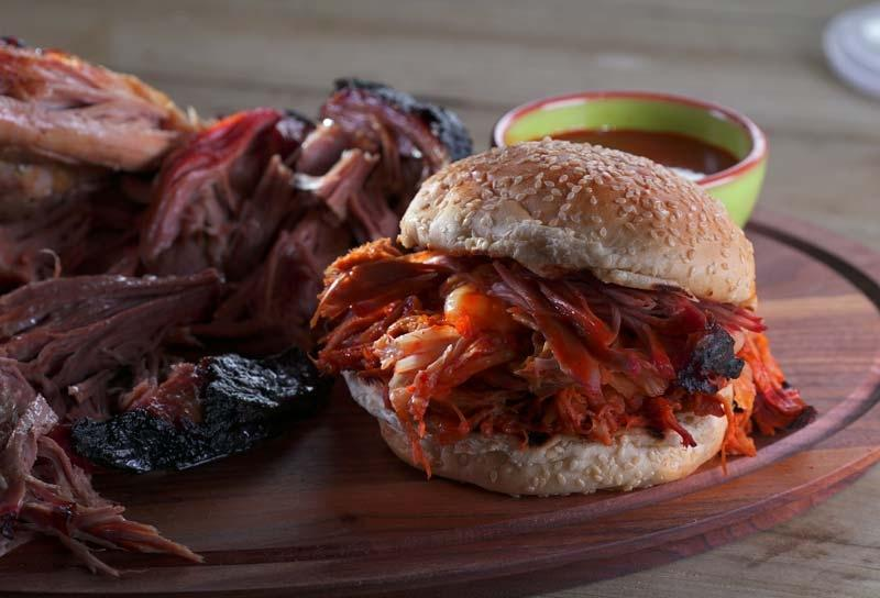 Image of Smoked Korean-Style Pulled Pork