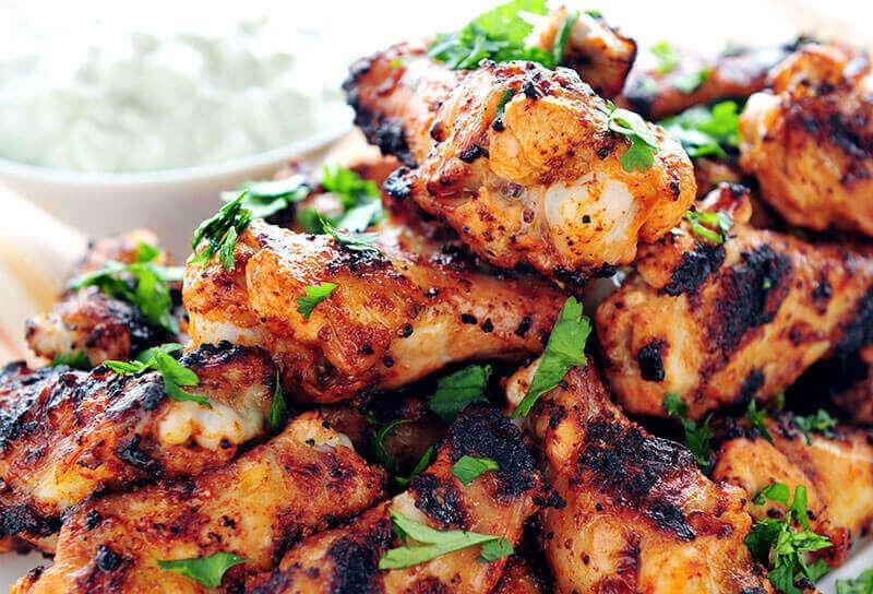 Image of Grilled Buttermilk Hot Wings