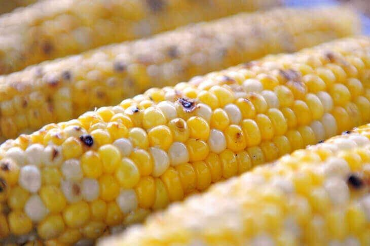 Image of Grilled Corn on the Cob