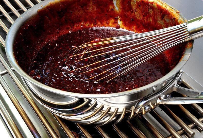 Image of Onion Marmalade Barbecue Sauce