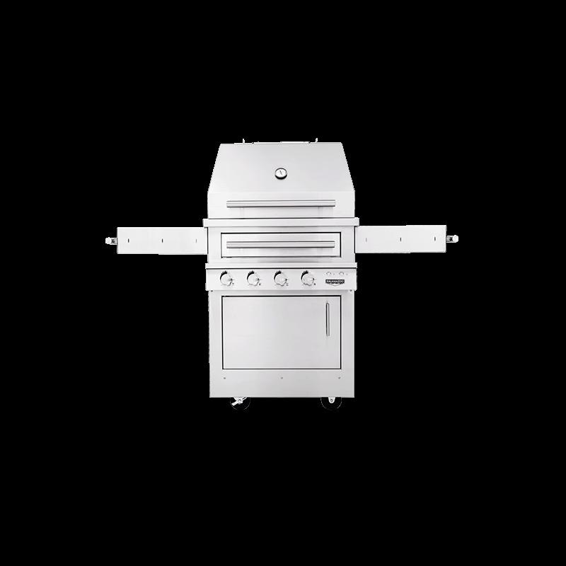 K500 Freestanding Hybrid Fire Grill Image