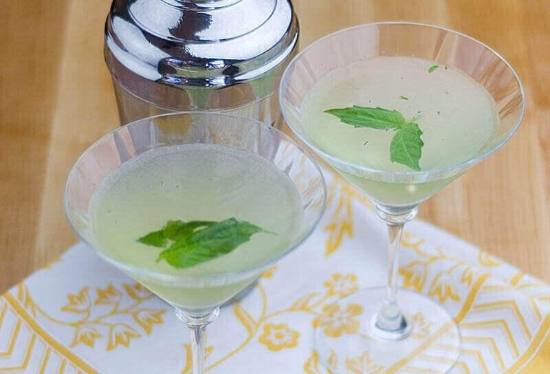 Image of Basil Martinis