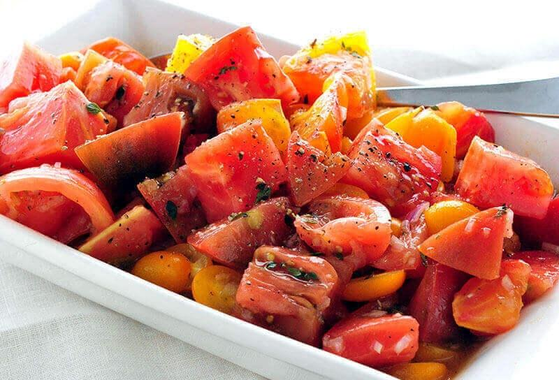 Image of Simple Tomato Salad