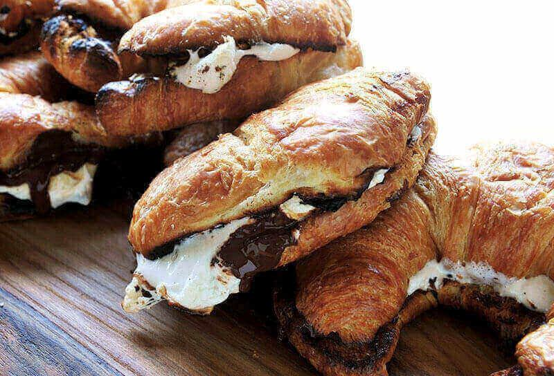 Image of Grilled Croissant S'mores