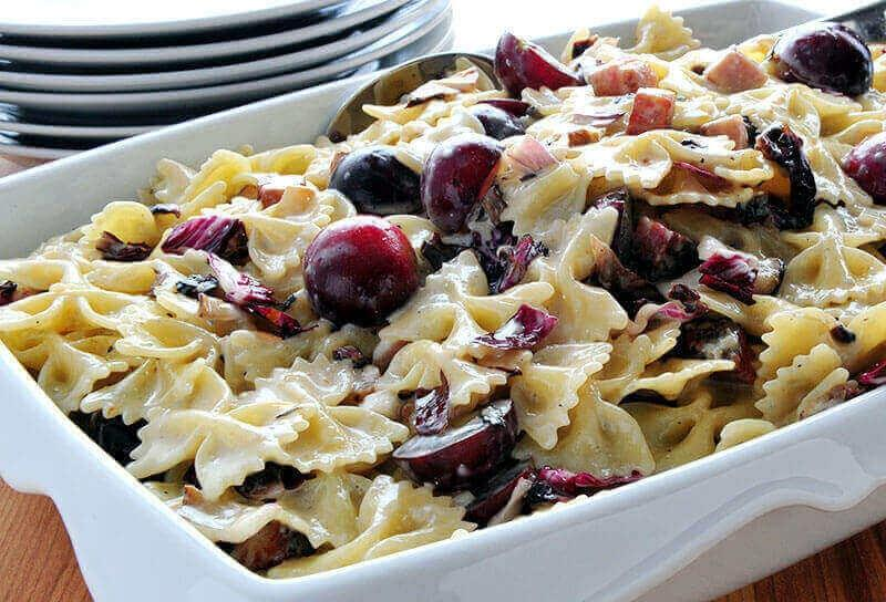 Image of Grape and Gorgonzola Pasta Salad