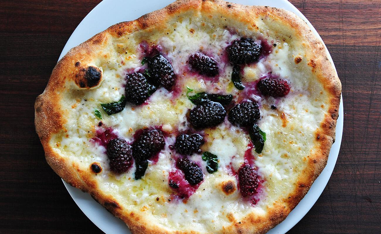 Image of Blackberry Burrata Pizza