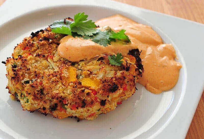 Image of Pumpkin Crab Cakes
