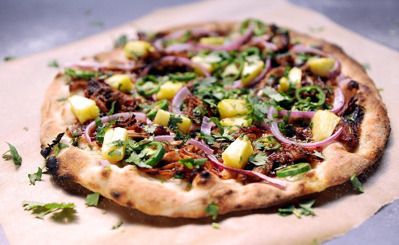 Image of Barbecue Pork Pizza