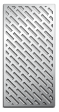 Laser-cut Grill Grate, Meat Pattern Image
