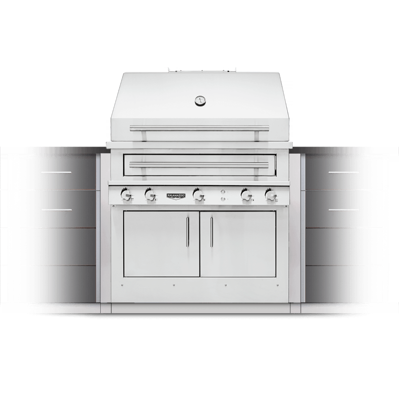 K750 Built-in Hybrid Fire Grill Image