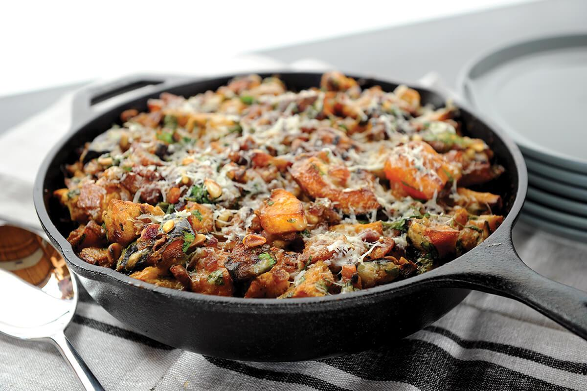 Image of Smoke-roasted Butternut Squash Casserole