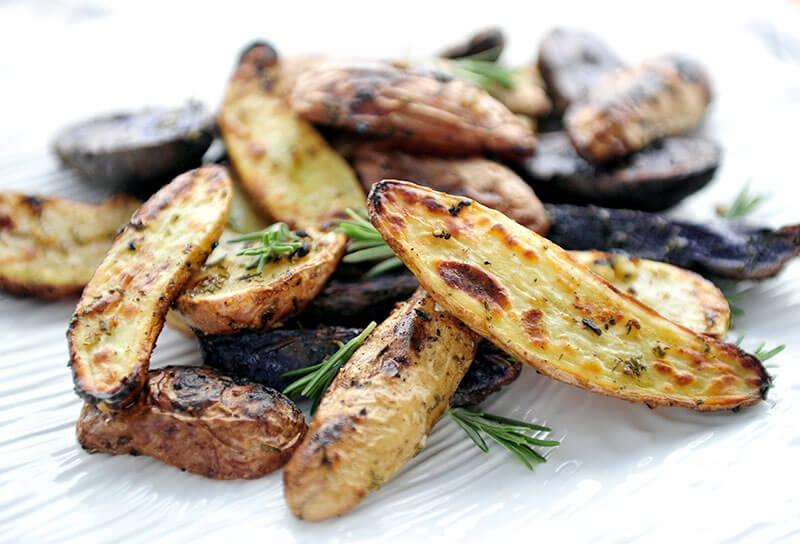 Image of Grill-roasted Fingerling Fries