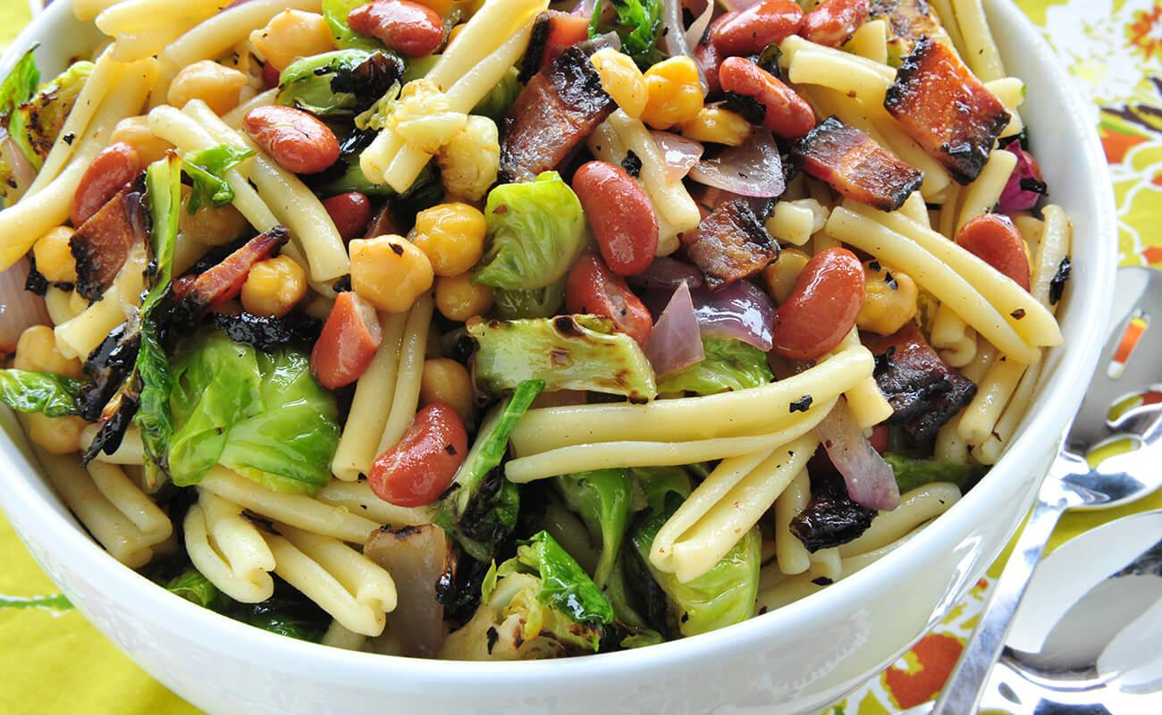 Image of Brussels and Beans Salad