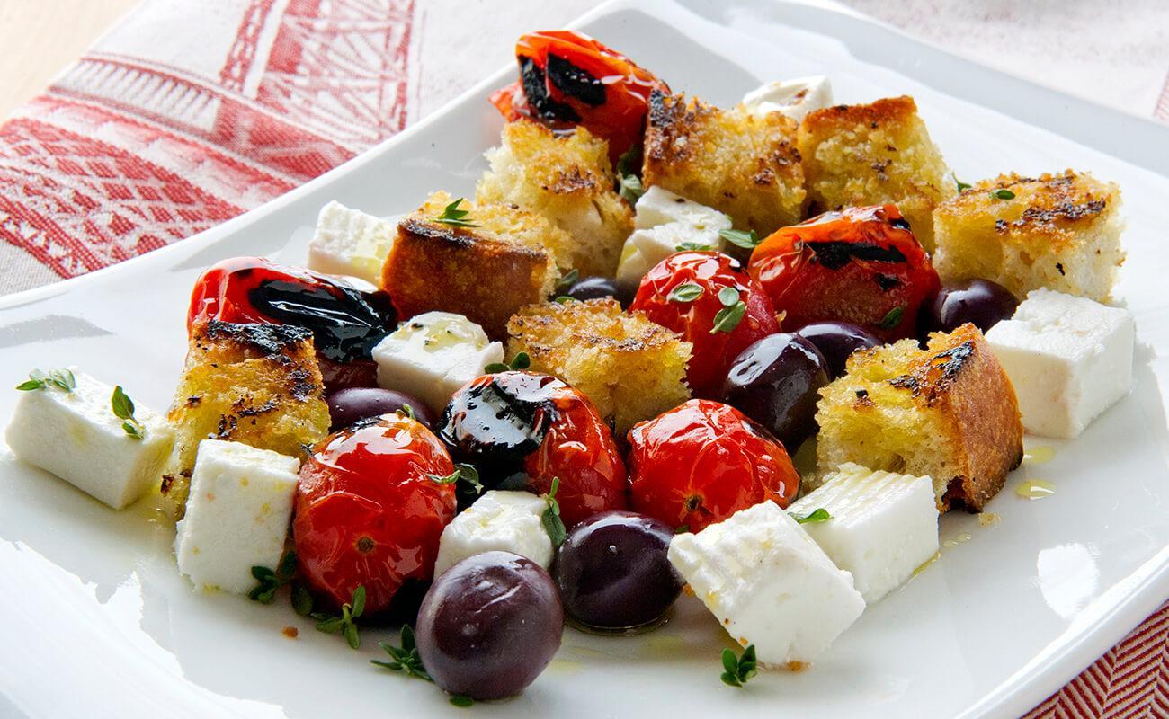 Image of Blistered Tomato Salad