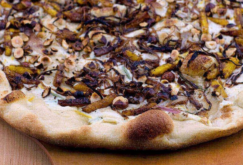 Image of Roasted Butternut Squash and Hazelnut Pizza