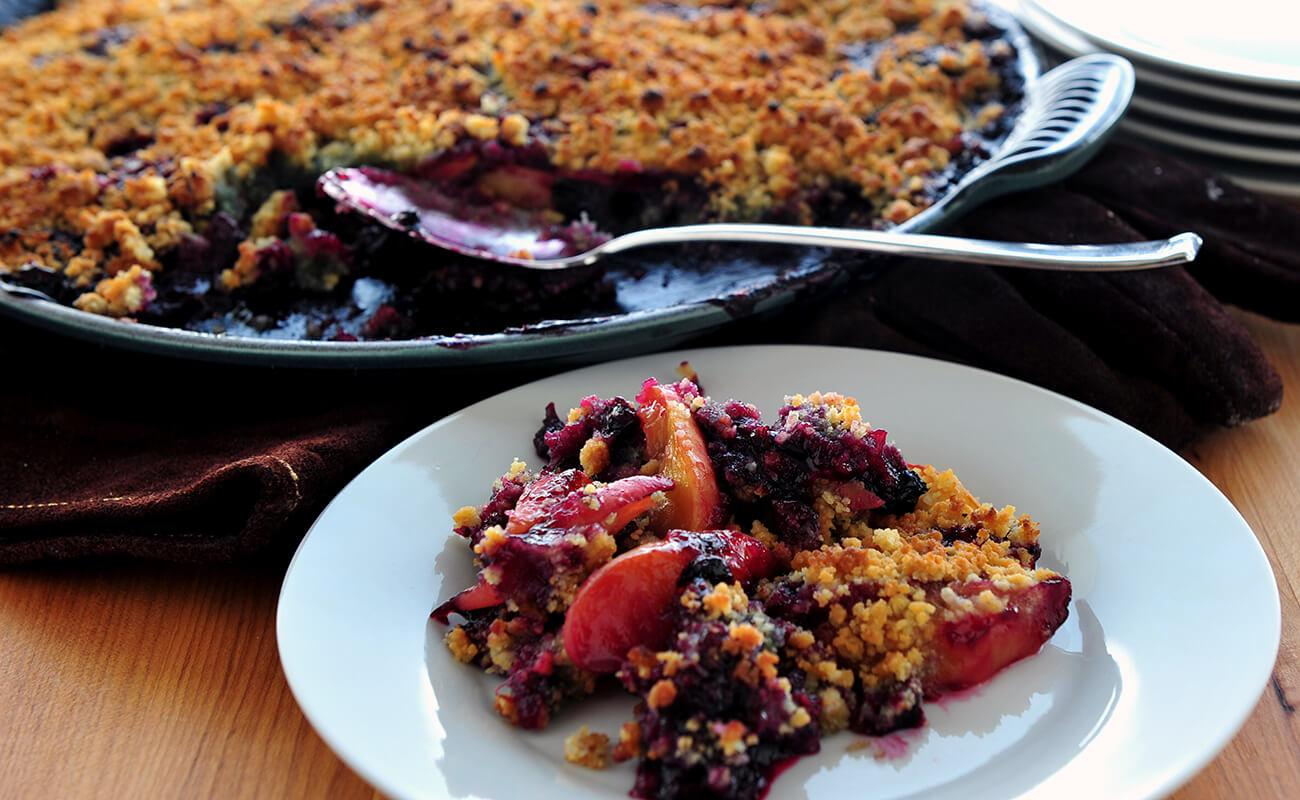 Image of Blueberry Peach Crumble