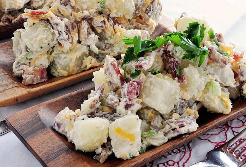 Image of Loaded Baked Potato Salad
