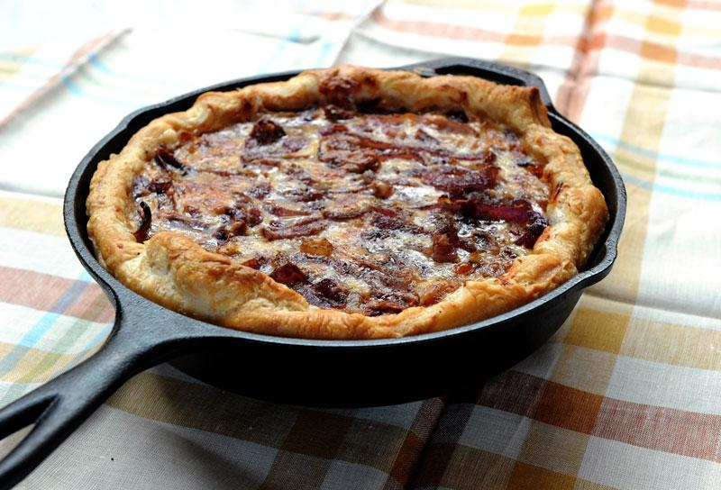 Image of Rustic Red Onion Tart
