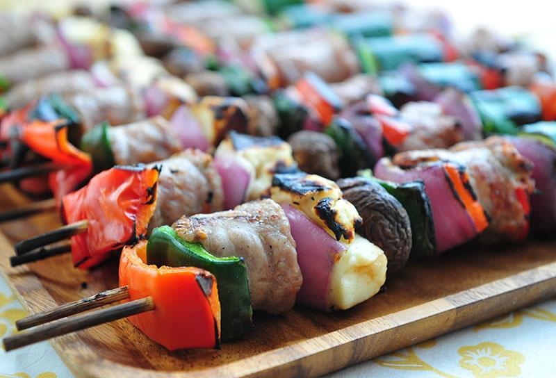 Image of Italian Sausage Kebabs