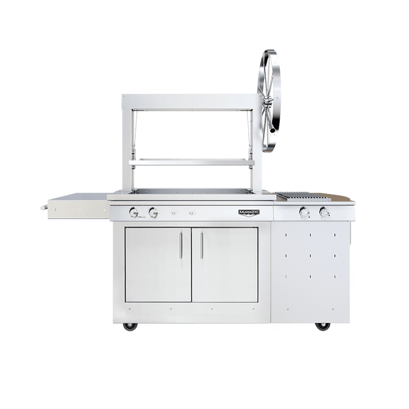 K750 Freestanding Gaucho Grill with Side Burner Image