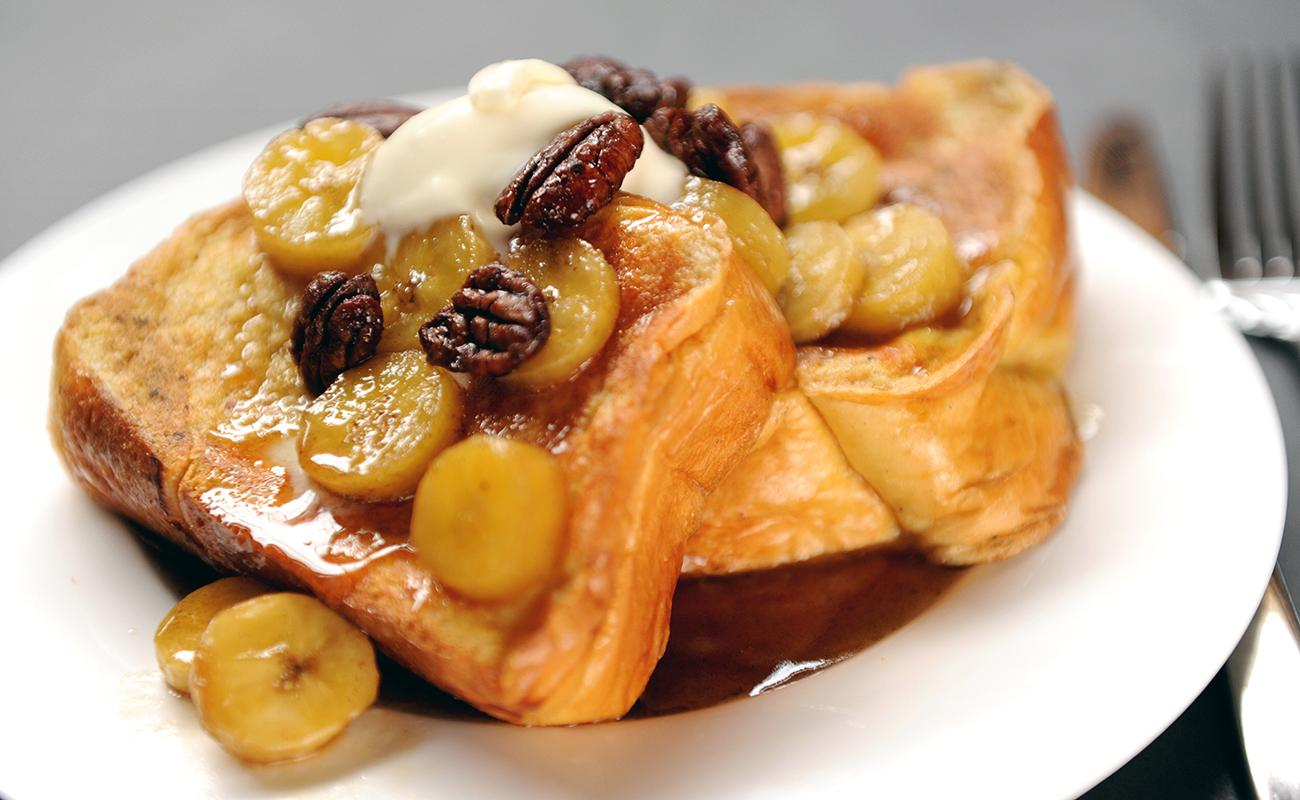 Image of Brandied Bananas French Toast
