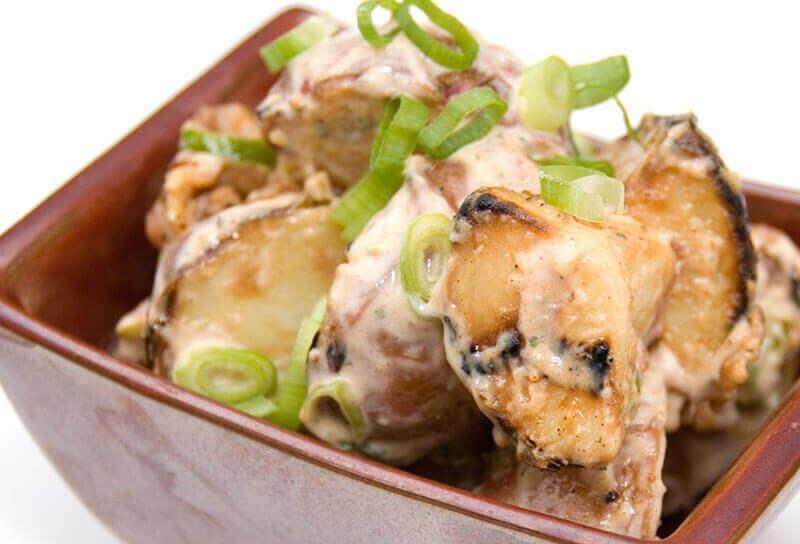 Image of Grilled Potato Salad
