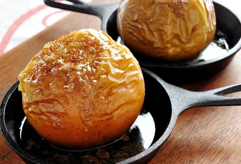 Image of Smoke-roasted Ginger Apples