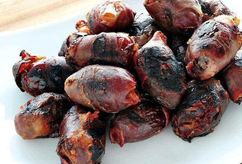 Image of Chorizo-stuffed Dates