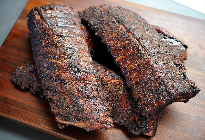 Image of Chile and Morel Dusted Baby Back Ribs