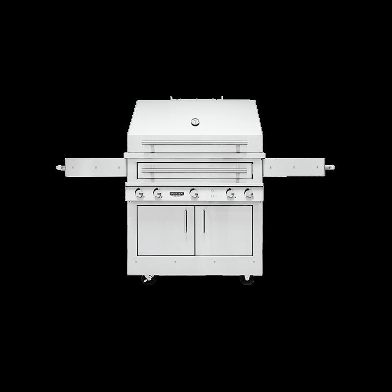 K750 Freestanding Hybrid Fire Grill Image