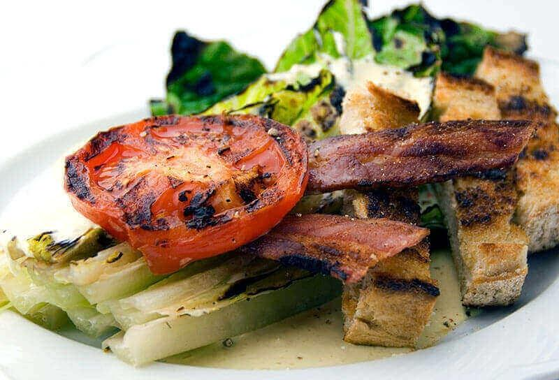 Image of Grilled Caesar Salad