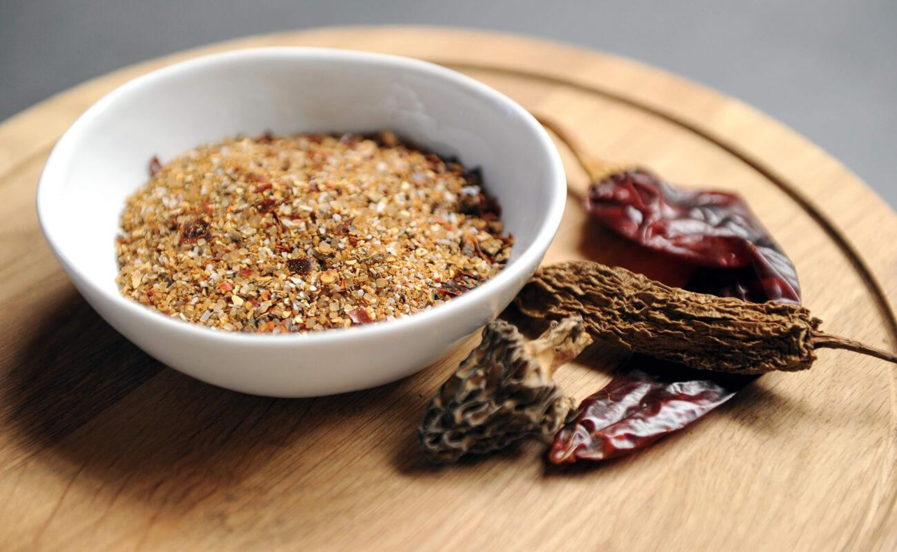 Image of Chile Morel Barbecue Rub