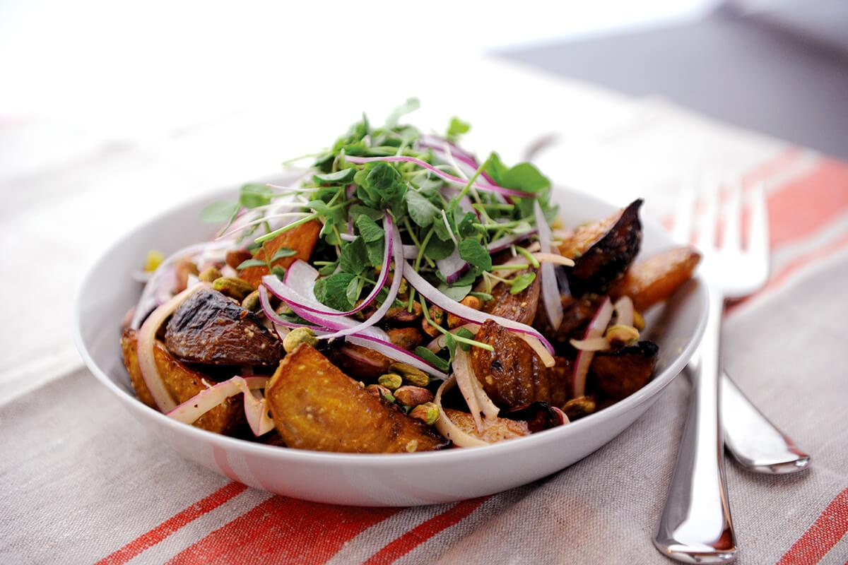 Image of Smoke-roasted Golden Beet Salad